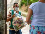 Prefeitura de Simões Filho segue com entrega de cestas básicas