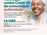 Simões Filho: Prefeitura realiza vacinação dos quilombolas de Pitanga de Palmares nesta quinta-feira (15)