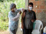 Prefeitura vacinou quilombolas de Pitanga de Palmares e Rio dos Macacos
