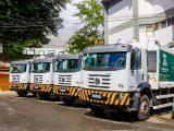 Simões Filho: Prefeitura renova frota de caminhões coletores