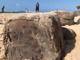 Bahia: Fardos de borracha são encontrados na praia da Pituba