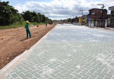 Obras de macrodrenagem avançam em Simões Filho; Atividades acontecem Avenidas Orlando Moscoso e Washington Luís